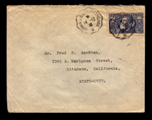 France SC# 314 On Cover Single Franking to USA - L11242