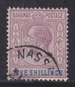 Bahamas 83 light cancel nice color scv $ 85 ! see pic !