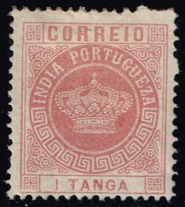 Portuguese India #165 Portuguese Crown; Unused (0.80)