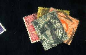 GB #144-5 147-9 USED F-VF Cat $90