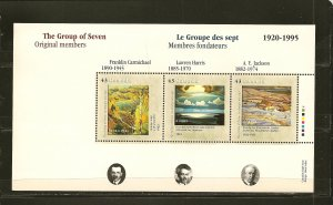 Canada 1559-1560 The Group of Seven Artists Souvenir Sheets MNH