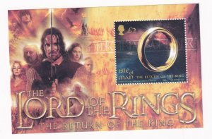 ISLE OF MAN THE LORD OF THE RINGS S/SHEET MNH PO FRESH