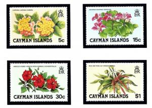 Cayman Is 448 51 MNH 1980 Flowers