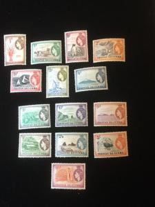 Tristan Da Cunha Scott #14-27 Mint NH And LH Set!