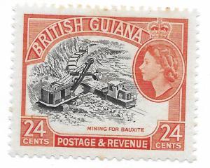 FRENCH GUIANA 261 MINT HING MINING
