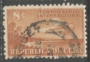 CUBA C40 VFU AIRPLANE Z4-135-8