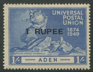 STAMP STATION PERTH Aden #35 UPU Issue 1949 MNH CV$1.75.