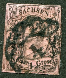 Saxony    SC.# 10 used