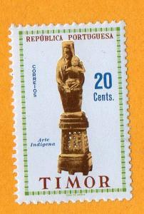 Timor Indigenous Art $20 1961 MNH