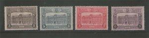 Belgium 1929 Sc Q176-Q179 MNH