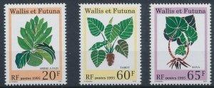 Wallis and Futuna 1995 #471-3 MNH. Plants