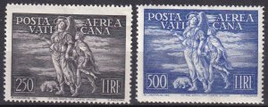 Vatican City #C16-7   F-VF Unused CV $440.00 (Z6895)