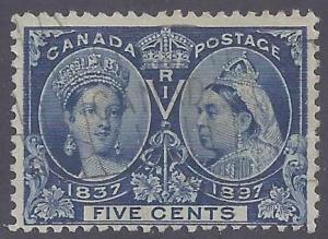 Canada Scott #54 Used