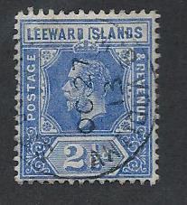 LEEWARD ISLANDS SC# 50 F-VF U 1912