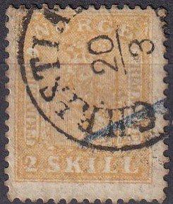 Norway #6  Used CV $250.00 (Z4647)