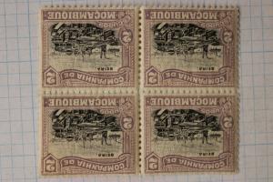 Mozambique sc#145 Mint MNH OG block 4 stamps 2c