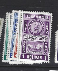 VENEZUELA  (PP0701B)  SC 635-8, C651-6  MNH