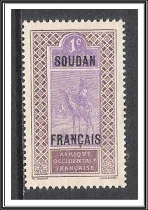 French Sudan #21 Camel & Rider NG