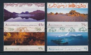 [42025] Australia 1996 Animals Birds Fossils Snake Unesco MNH