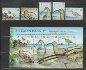 PITCAIRN ISLANDS Queen Elizabeth Era 2005 Bristle-thighed Curlew