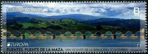 HERRICKSTAMP NEW ISSUES SPAIN Sc.# 4274 EUROPA 2018 Bridges with Cut Out