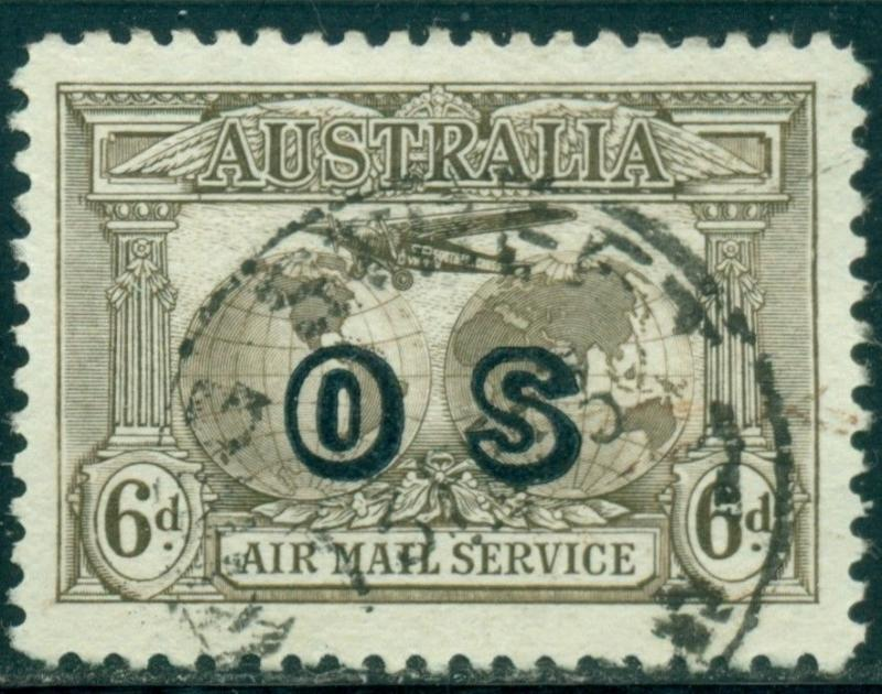 Australia Scott #CO1 Used C3 OVPT OS CV$35+