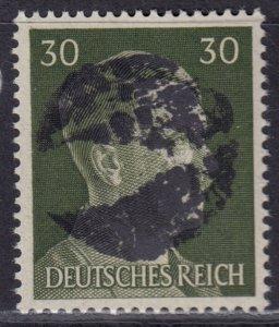 Germany Soviet Zone SBZ - LOCAL BLOSENBERG 30Pf HITLER head - Expertized Richter