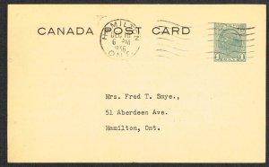 Canada Unitrade Postal Card UX62b