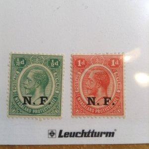 German East Africa  # N101-102  MH