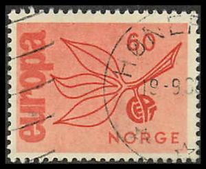 Norway 475 Used  VF