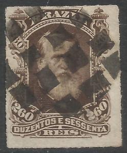 BRAZIL 74 VFU DOM PEDRO Z2516