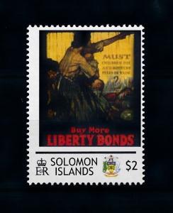 [78431] Solomon Islands  World War I Propaganda Poster  MNH