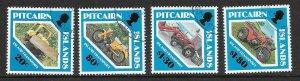 PITCAIRN ISLANDS SG401/4 1991 ISLAND TRANSPORT FINE USED