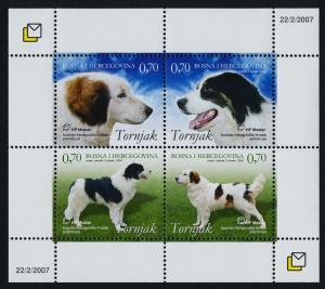 Bosnia & Herzegovina (Croat Admin) 169 MNH Dogs