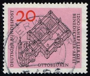 Germany #880 Bendictine Abbey in Ottobeuren; Used (0.30)
