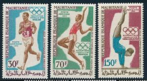 Mauritania - Mexico Olympic Games MNH Set (1968)