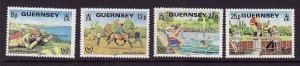 Guernsey-Sc#232-5-unused NH set-Int. Year of Disabled 1981-