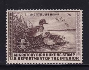 RW6 VF-XF unused ( mint no gum ) with nice color cv $ 55 ! see pic !