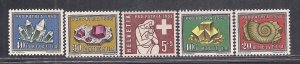 SWITZERLAND SC# B272-6  VF/MOG