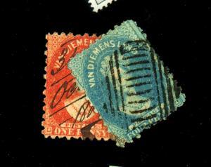Tasmania #23 25 Used Ave-Fine