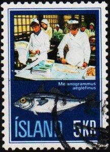 Iceland. 1971 5k S.G.488 Fine Used