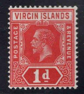 Virgin Islands  Scott 39 MH* KGV wmk 3, die 1