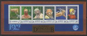 ALDERNEY SGMSA115 1998 21st ANNIVERSARY OF ALDERNEY DIVING CLUB MNH