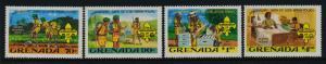 Grenada 1088-91 MNH Scouts, Scouting Year