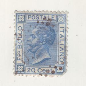 J10525 JL stamps @4%scv 1867-77 italy used #35 $300.00 scv