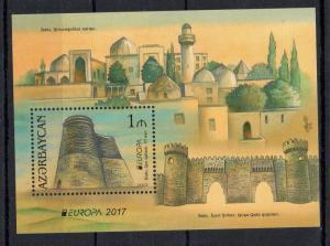 AZERBAIDJAN - 2017 - M/S - EUROPA - CASTLES -