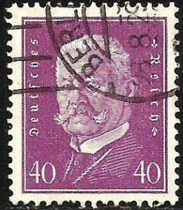 Germany 1928 Scott# 379 Used