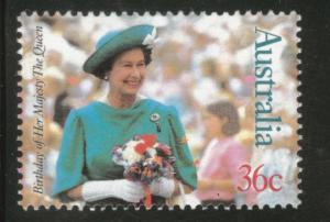 AUSTRALIA Scott 1023 MNH** 1987 QE2's 61'st Bday stamp