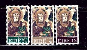 Ireland 323-25 MNH 1972 Christmas