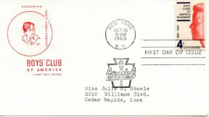 US FDC #1163 Boy's Clubs, House Of Farnam (6534)